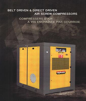 BELT DRIVEN & DIRECT DRIVEN AIR SCREW COMPRESSORS