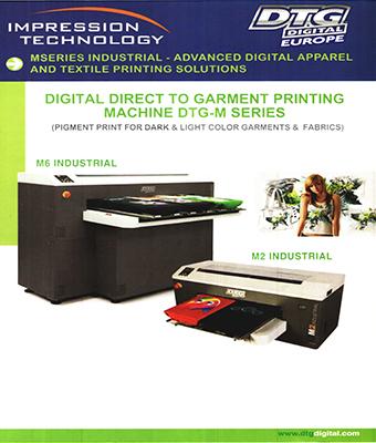 Digital Direct to Garment Printing Machine DTG-M Series